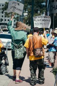 Vote4Medicaid Demonstrators