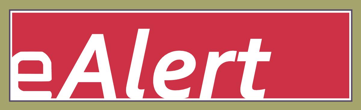 eAlert Banner
