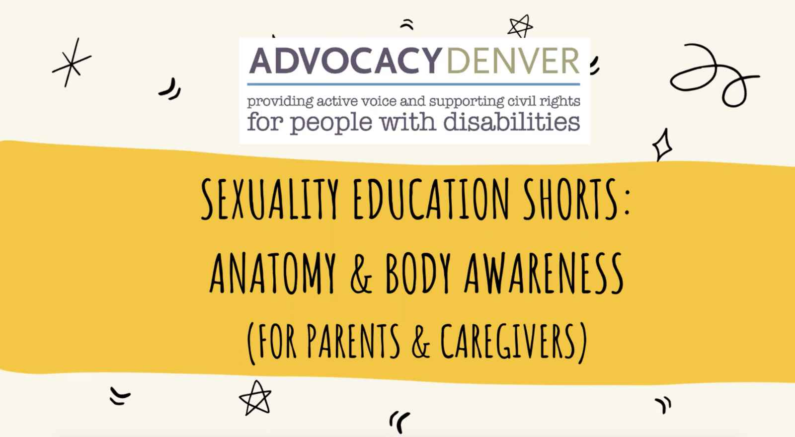 Sexuality Education Shorts: Anatomy and Body Awareness