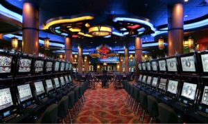 Interior of a Casino