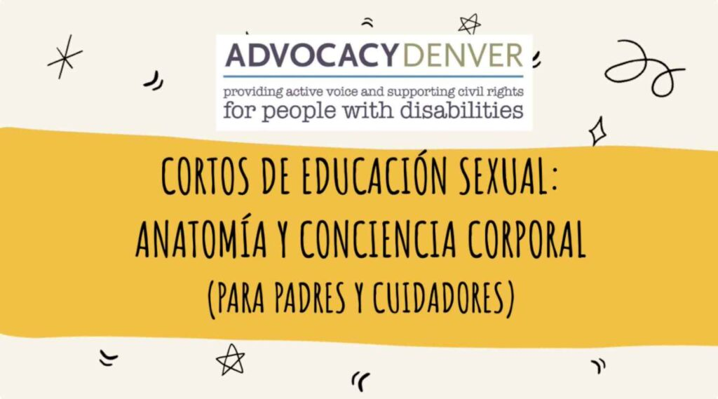 Cortos de Educación Sexual: Anatomía y Conciencia Corporal (para Padres y Cuidadores)