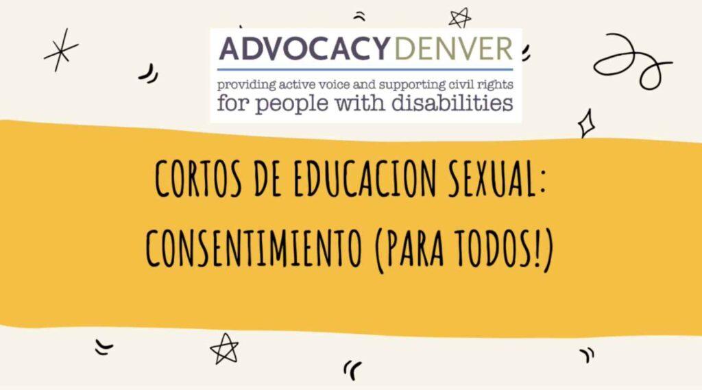Cortos de Educación Sexual: Consentimiento (para todos!)