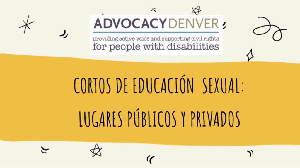 Cortos de Educación Sexual: Lugares Públicos y Privados